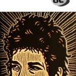 Cartel Bob Dylan para Dibujo Madrid